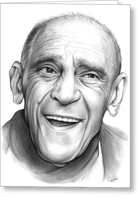 Abe Vigota Greeting Card