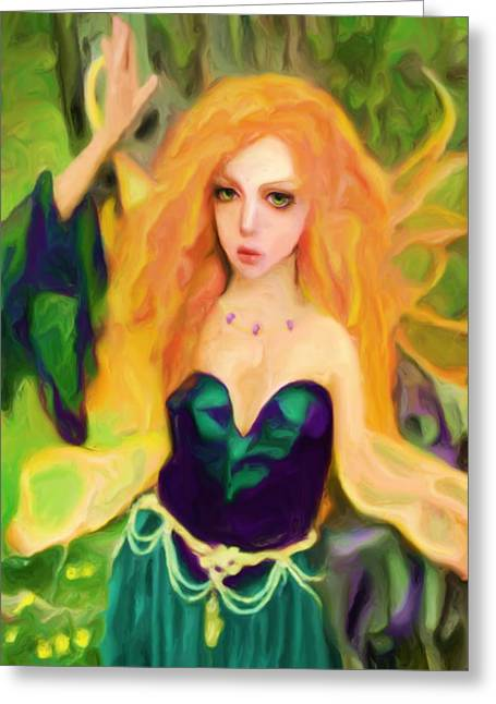 Abell - Beautiful  Greeting Card by Shelley Bain