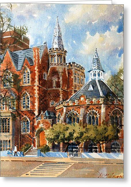 Abercorn-the Old Grammar School Greeting Card
