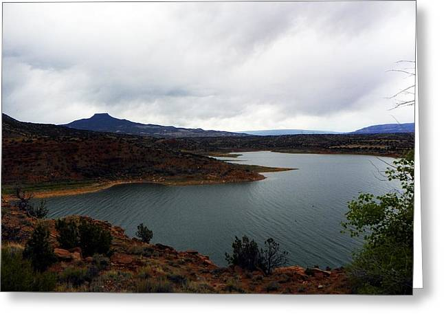 Abique Lake Nm Greeting Card
