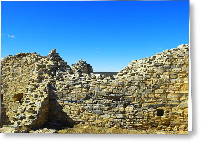 Greeting Card featuring the photograph Abo Mission Ruins New Mexico by Jeff Swan