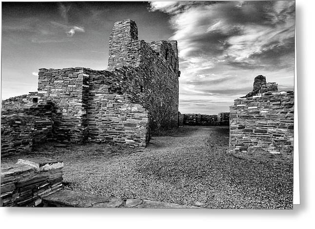 Abo Mission, Salinas Pueblo National Monument, New Mexico Greeting Card by Mark Goebel