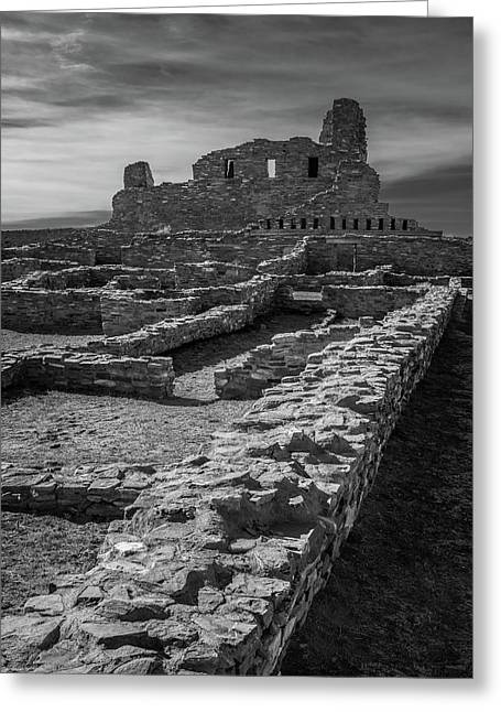 Abo Ruins Greeting Card by Joseph Smith