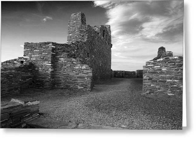 Abo Ruins, New Mexico Greeting Card by Mark Goebel