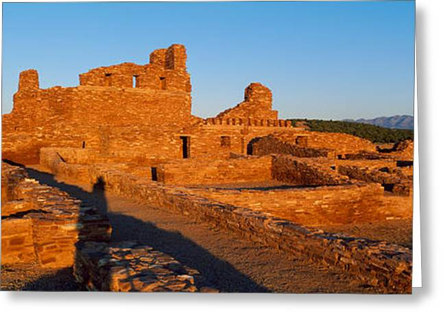 Abo Ruins Salinas Pueblo Missions Greeting Card by Panoramic Images