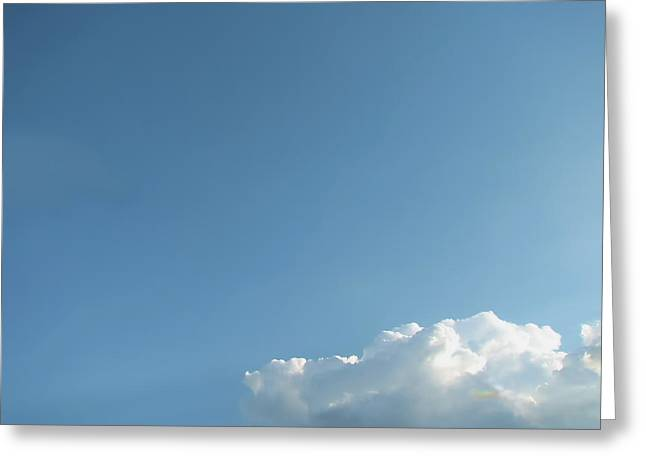 About A Cloud Greeting Card by Wendy J St Christopher