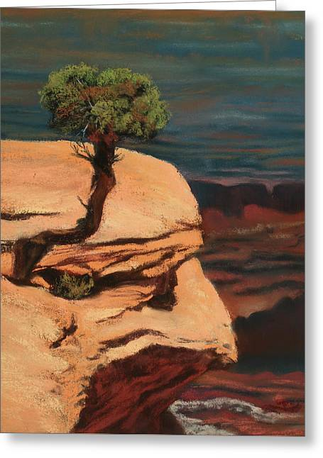 Above It All Greeting Card by Sandi Snead