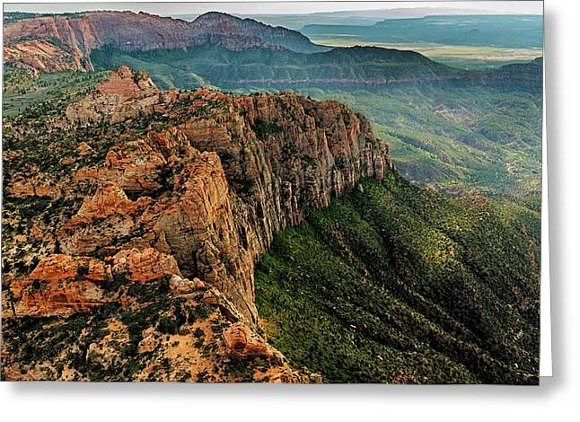 Above Kolob Terrace Greeting Card