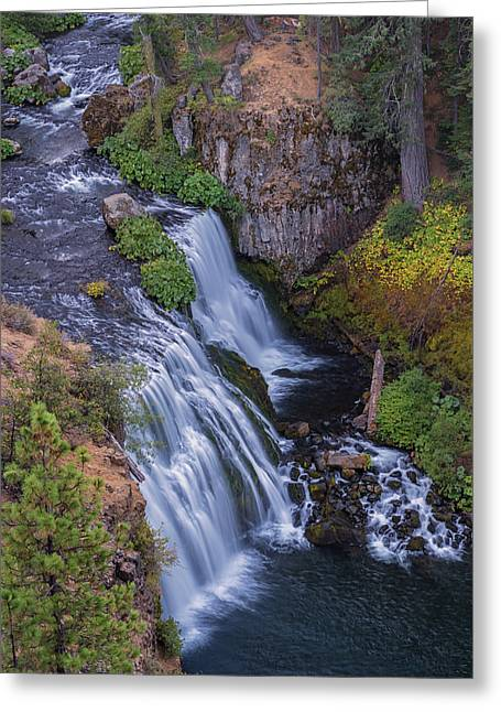 Above Middle Falls Greeting Card