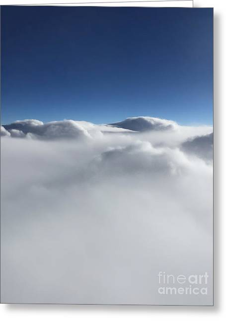 Above The Clouds II Greeting Card
