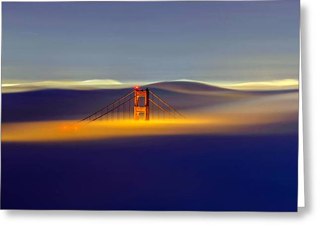 Above The Fog II Greeting Card