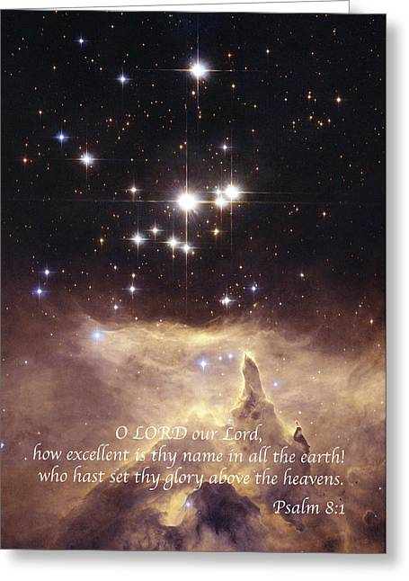 Above The Heavens Greeting Card by Michael Peychich