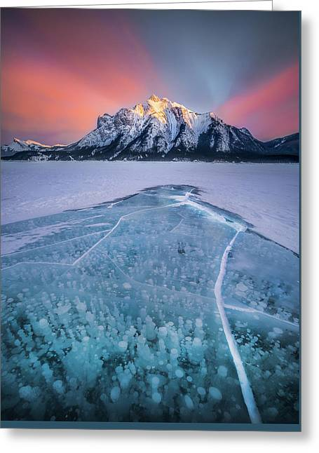 Abraham Lake Splendor // Alberta  Greeting Card