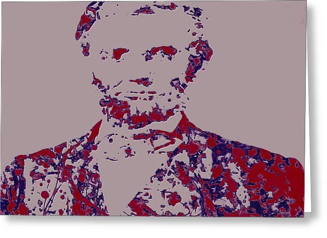 Abraham Lincoln 4c Greeting Card