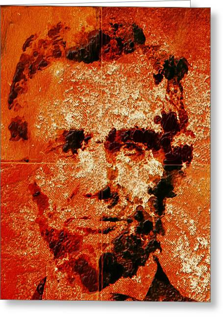 Abraham Lincoln 4d Greeting Card