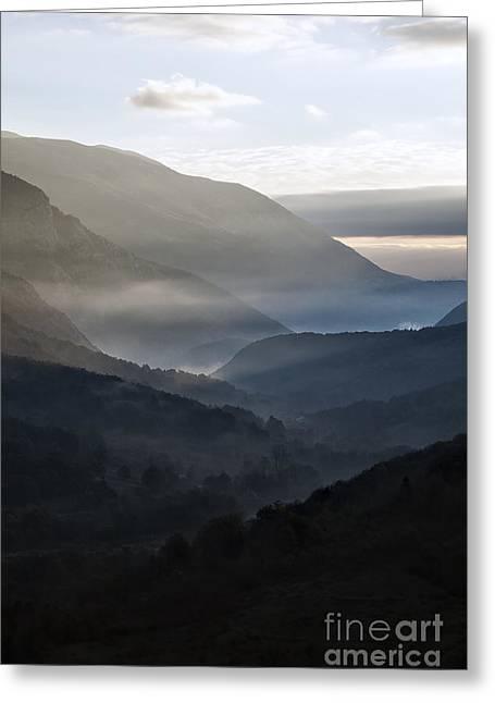 Abruzzo National Park Greeting Card