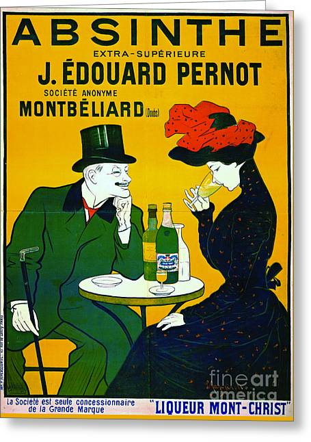 Absinthe Extra-superieure 1899 Greeting Card by Padre Art