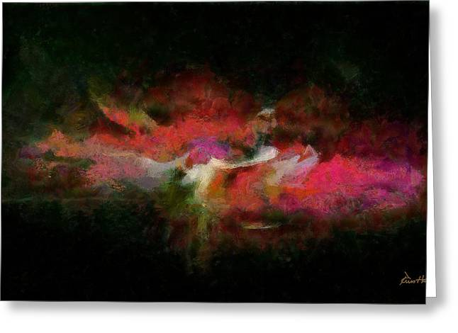 Abstract - Springtime Greeting Card by Russ Harris