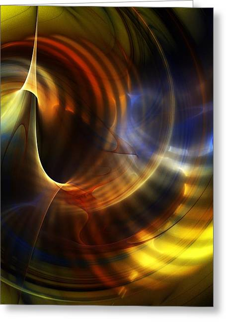 Abstract 040511 Greeting Card