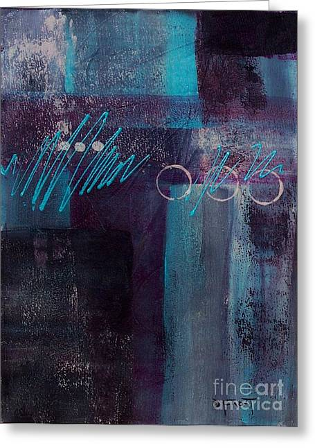 Abstract 053 Greeting Card by Donna Frost
