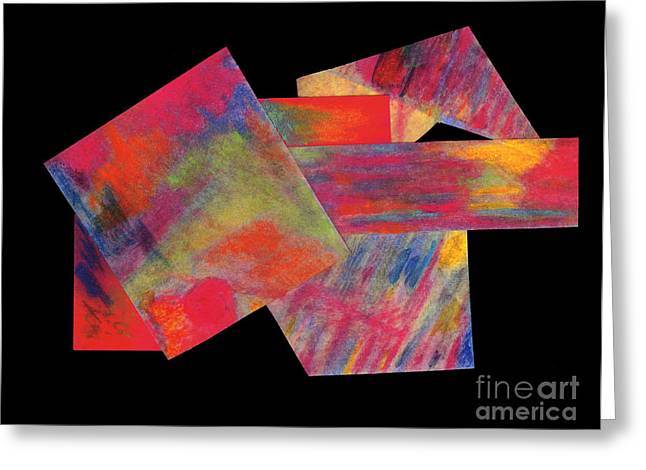 Abstract 1 Greeting Card