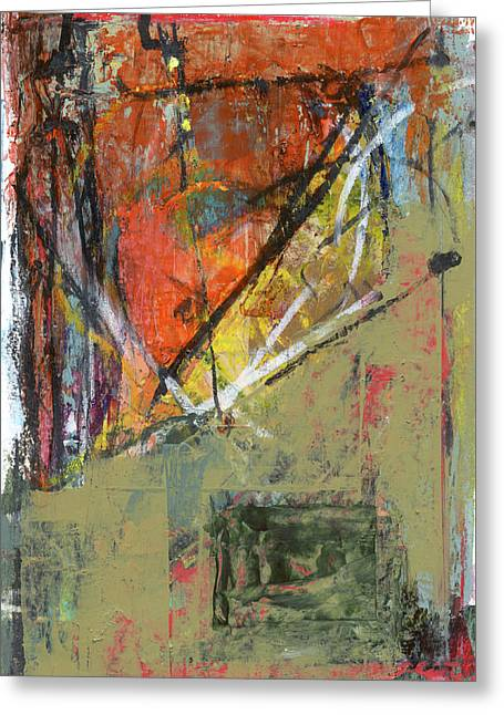 Abstract 1017 Greeting Card