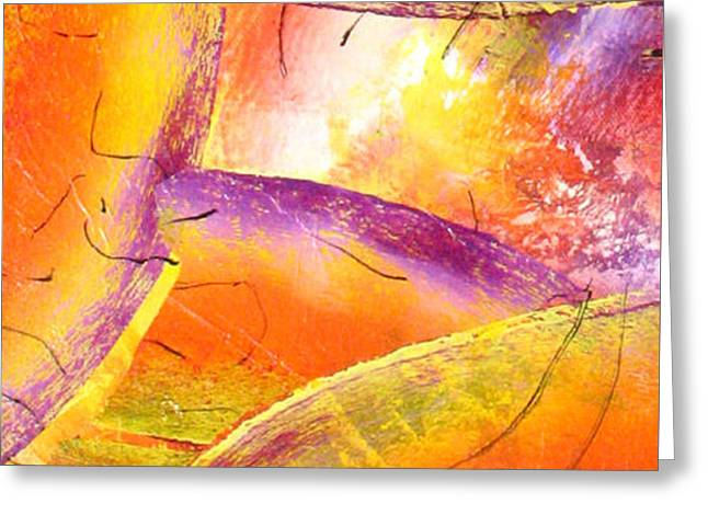 Abstract-108 Greeting Card by Jay Bonifield