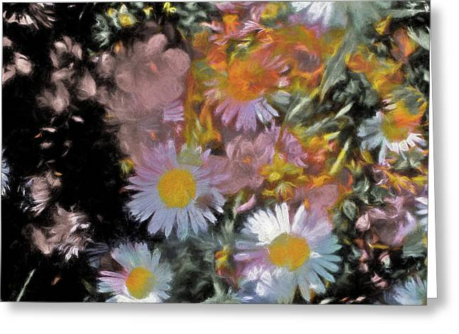 Abstract 116 Greeting Card by Pamela Cooper