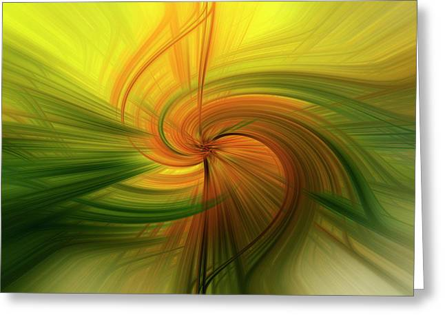 Abstract 12 Greeting Card