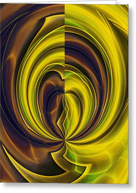 Abstract 121510 Greeting Card
