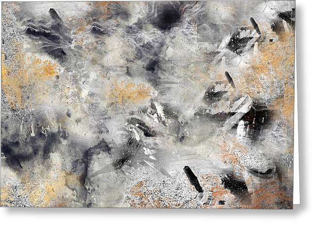 Abstract 13 Greeting Card by Art Spectrum