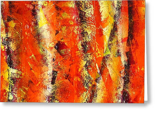 Abstract-141 Greeting Card by Jay Bonifield