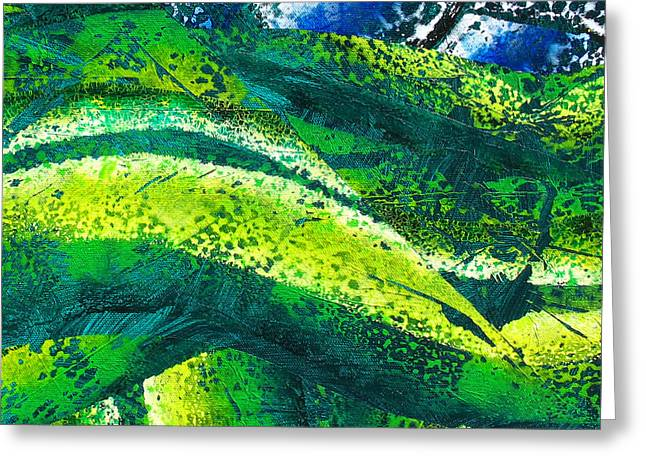 Abstract-142 Greeting Card by Jay Bonifield