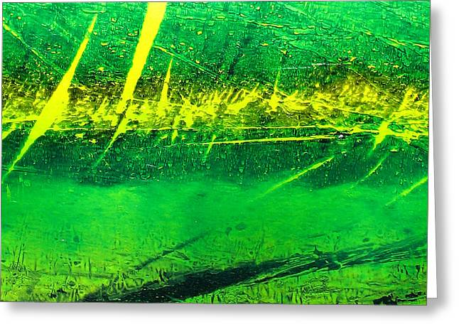 Abstract-143 Greeting Card by Jay Bonifield