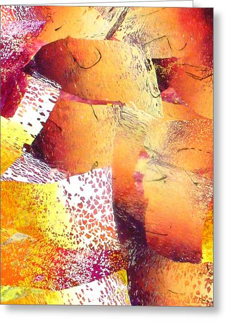 Abstract-144 Greeting Card by Jay Bonifield