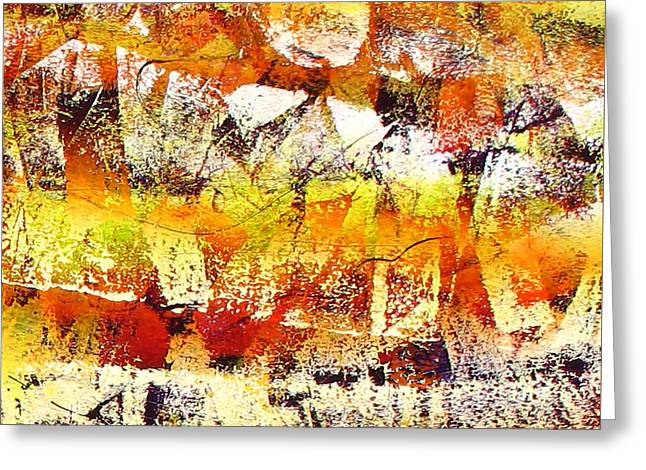 Abstract-146 Greeting Card by Jay Bonifield