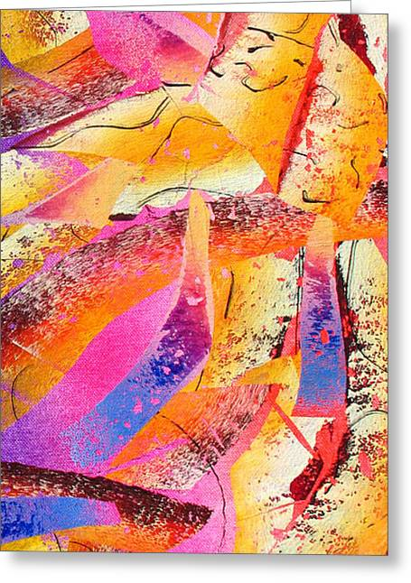 Abstract-148 Greeting Card by Jay Bonifield