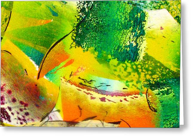 Abstract-149 Greeting Card by Jay Bonifield