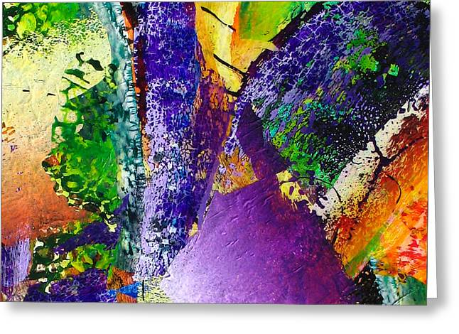 Abstract-151 Greeting Card by Jay Bonifield