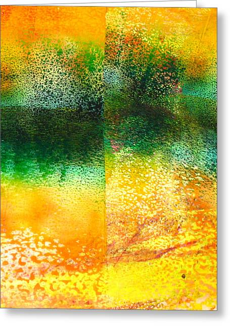 Abstract-152 Greeting Card by Jay Bonifield
