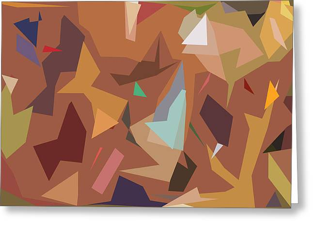 Abstract 16 Greeting Card by Art Spectrum