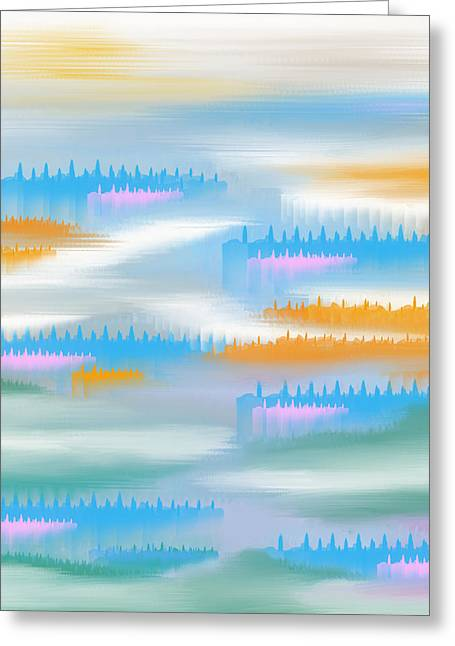 Abstract 17 Greeting Card by Art Spectrum