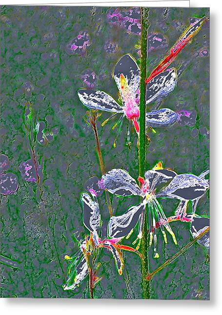 Abstract 171 Greeting Card by Pamela Cooper