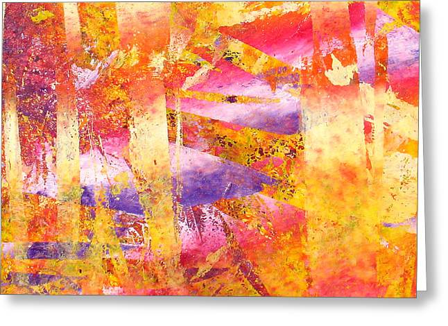 Abstract-176 Greeting Card by Jay Bonifield