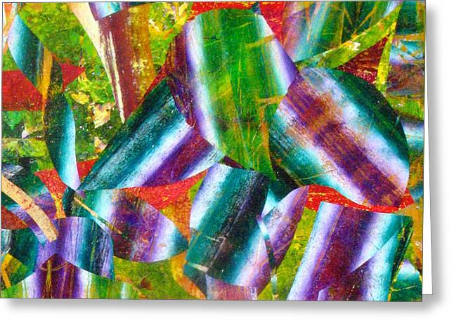 Abstract-178 Greeting Card by Jay Bonifield