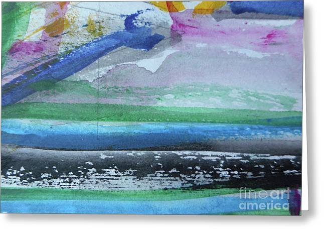 Abstract-18 Greeting Card
