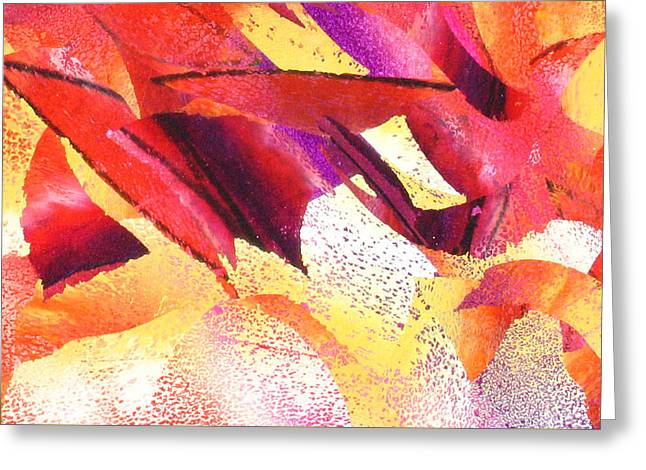 Abstract-181 Greeting Card by Jay Bonifield
