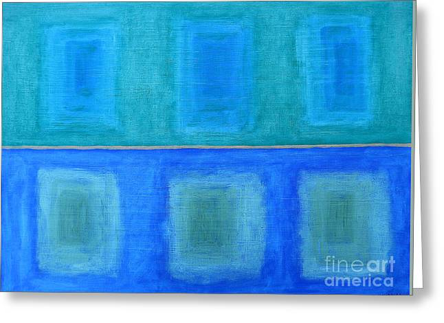 Abstract 184 Greeting Card by Patrick J Murphy