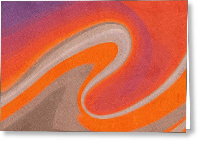 Abstract 19 Greeting Card by Art Spectrum