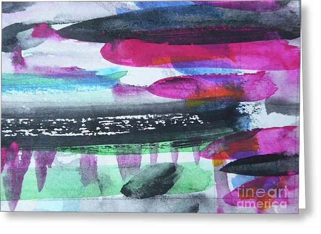 Abstract-19 Greeting Card
